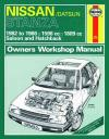 Nissan Stanza 1982 1986 Haynes Service Repair Manual