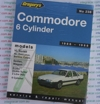 Holden Commodore VL 6 cyl 1986 1988 Gregorys Service Repair Manual
