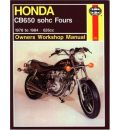 Honda CB650 Fours Owner's Workshop Manual