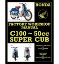 Honda Motorcycles Workshop Manual C100 Super Cub
