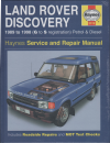 Land Rover Discovery repair manual 1989-1998