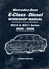 Mercedes Benz E Class Diesel W210 W211 Series 2000-2006 Workshop Manual   Brooklands Books Ltd UK